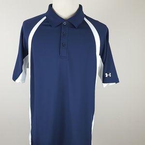 Under Armour Heat Gear Polo Shirt Mens XL